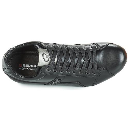 Hombre Zapatos Zapatillas Bajas Negro Redskins Tonaki shrdCtQ
