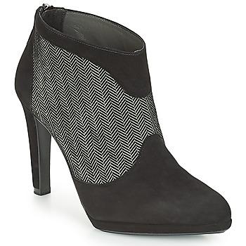 Zapatos Mujer Botines Peter Kaiser PATRINA Negro / Gris