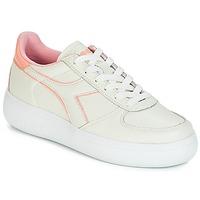 Zapatos Mujer Zapatillas bajas Diadora B.ELITE L WIDE WN Crudo / Rosa