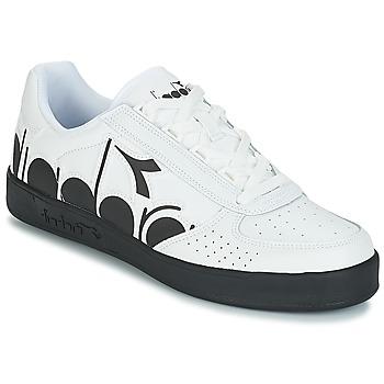 Zapatos Hombre Zapatillas bajas Diadora B.ELITE BOLDER Blanco / Negro
