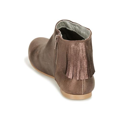 Dolly Mujer Bronce Botas Zapatos Vintage Baja De Caña Ippon Magic N0O8nPwkX