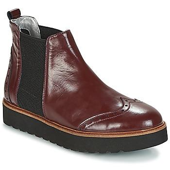 Zapatos Mujer Botas de caña baja Ippon Vintage HUNTER THICK Burdeo