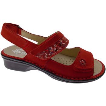 Zapatos Mujer Sandalias Loren LOM2716ro rosso