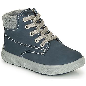 Zapatos Niño Botas de caña baja Primigi BARTH 19 Marino / Gris