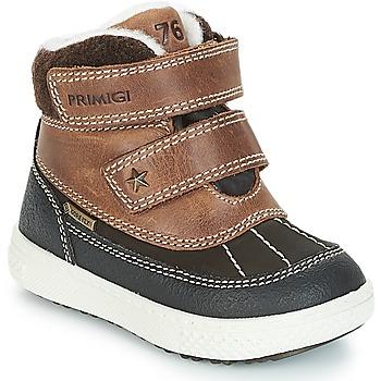 Zapatos Niño Botas de caña baja Primigi 2372600 PBZGT GORE-TEX Marrón