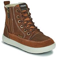 Zapatos Niño Botas de caña baja Primigi PCA 24130 Marrón