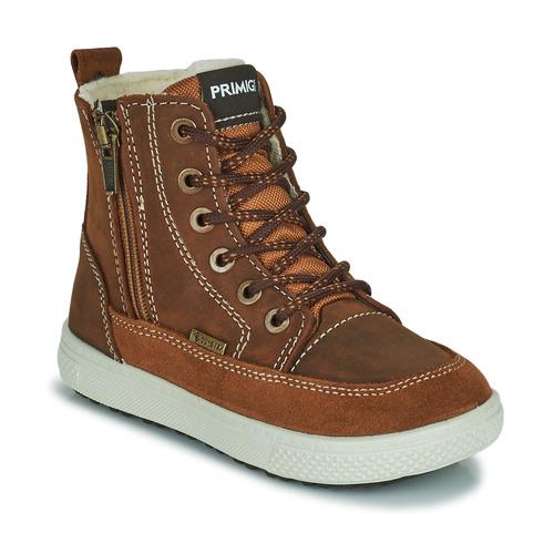 Zapatos Niño Botas de nieve Primigi PCA 24130 Marrón