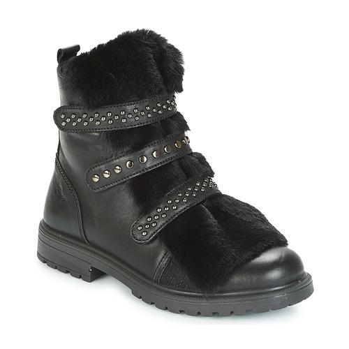 Zapatos Niña Botas de caña baja Primigi CHRIS Negro