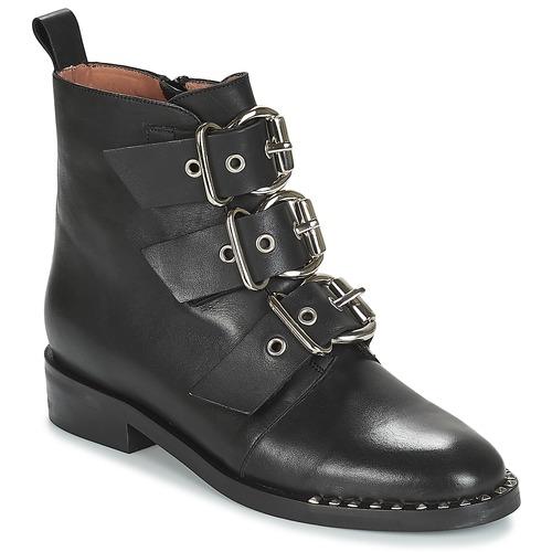 Zapatos casuales salvajes Zapatos especiales Jonak DIRCE Negro