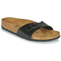 Zapatos Mujer Zuecos (Mules) Birkenstock MADRID Negro / Barniz