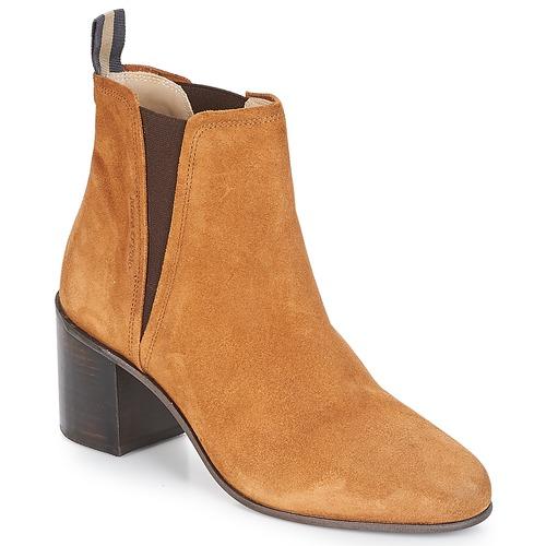 Venta de liquidación de temporada Zapatos especiales Marc O'Polo CAROLINA Camel