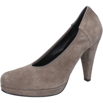 Zapatos Mujer Zapatos de tacón Calpierre de salón beige gamuza AJ405 beige