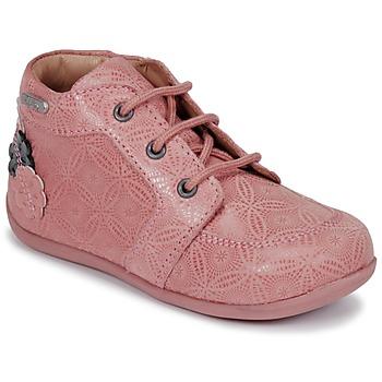 Zapatos Niña Botas de caña baja Aster DILA Rosa