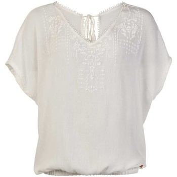 textil Mujer Tops / Blusas Protest TOP  SEASHELL MUMBY BLOUSE 1615181 BLANCO