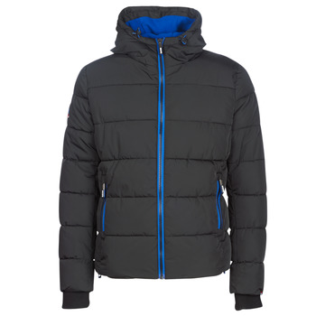 textil Hombre Plumas Superdry SPORTS PUFFER Negro