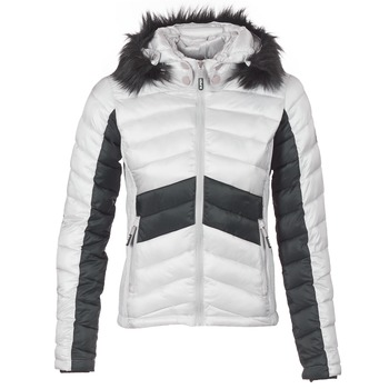 textil Mujer Plumas Superdry OFFSHORE LUXE CHEVRON FUJI Gris / Negro