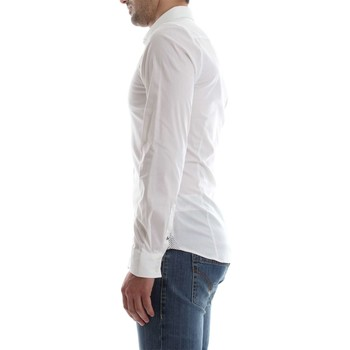 Guess M81H38 W7ZK0 VALLEY CAMISA Hombre WHITE WHITE