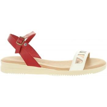 Zapatos Mujer Sandalias Cumbia 20575 Rojo