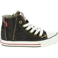 Zapatos Niños Zapatillas altas Levi's VTRU0004T ORIG Negro