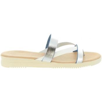 Zapatos Mujer Sandalias Cumbia 20573 Plateado