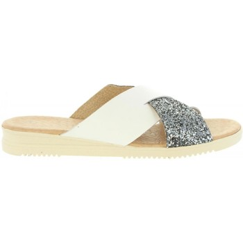 Zapatos Mujer Sandalias Cumbia 20571 Plateado