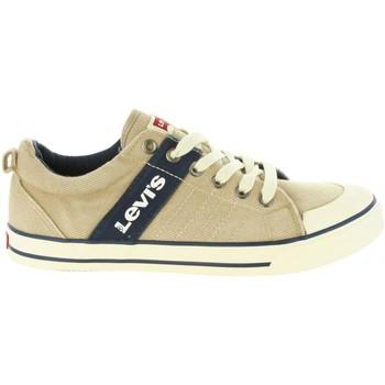 Zapatos Niños Deportivas Moda Levi's VALB0006T ALABAMA Beige