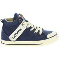 Zapatos Niños Deportivas Moda Levi's VALB0001T ALABAMA HI Azul
