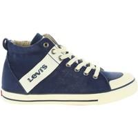 Zapatos Niños Deportivas Moda Levi's VALB0005T ALABAMA HI Azul