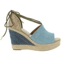 Zapatos Mujer Sandalias Sprox 393443-B6600 Azul