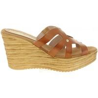 Zapatos Mujer Sandalias Cumbia 30986 Marr?n