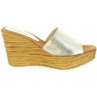 Zapatos Mujer Sandalias Cumbia 31000 Plateado