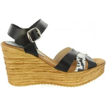 Zapatos Mujer Sandalias Cumbia 31001 Negro