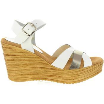 Zapatos Mujer Sandalias Cumbia 31001 Blanco