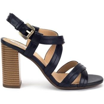 Zapatos Mujer Sandalias Geox Audalies High Sand Negro