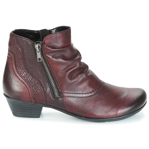 Zapatos Sorial Remonte Botines Dorndorf Rojo Mujer 45jLqA3R