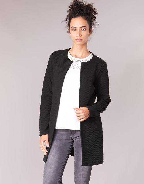 textil Mujer Chaquetas / Americana Vila VINAJA LONG Negro