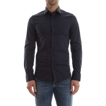 Guess M81H38 W7ZK0 VALLEY CAMISA Hombre BLUE NAVY BLUE NAVY