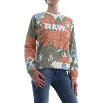 G-Star Raw D09371 A527 A-CRAFT CROPPED SW CAMISETA Mujer OFF WHITE OFF WHITE