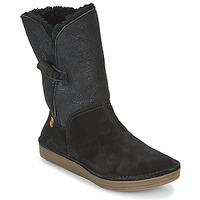 Zapatos Mujer Botas de caña baja El Naturalista RICE FIELD Negro