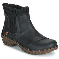 Zapatos Mujer Botas de caña baja El Naturalista YGGDRASIL Negro