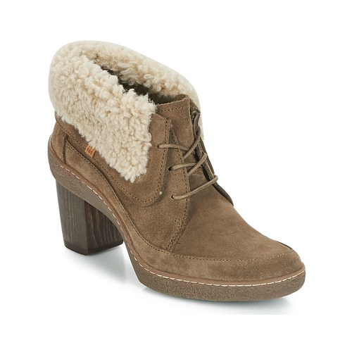 El Botines Zapatos Lichen Mujer Kaki Naturalista 2WEHIYD9