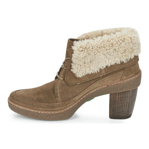 Zapatos El Lichen Naturalista Mujer Botines Kaki wv80mNOn