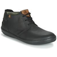 Zapatos Hombre Botas de caña baja El Naturalista METEO Negro