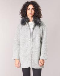 textil Mujer Abrigos Le Temps des Cerises DUCHESSE Gris