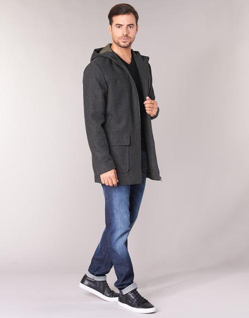 Abrigos Sisley Textil Fedvun Gris Hombre uOPkiXZ