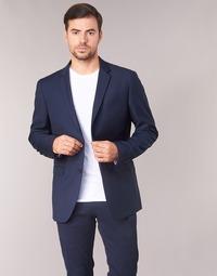 textil Hombre Chaquetas / Americana Sisley FASERTY Marino
