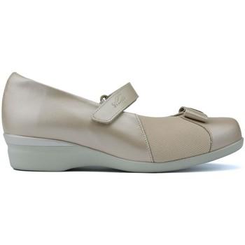 Zapatos Mujer Bailarinas-manoletinas Dtorres LETINAS  ALMA W BEIGE