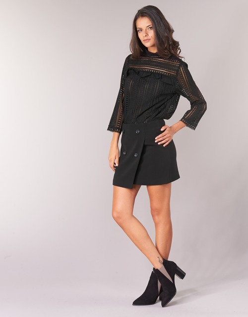 TopsBlusas See U Mujer Telica Textil Negro Soon OPkN8n0ZwX