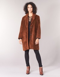 textil Mujer Abrigos See U Soon REVENTA Marrón