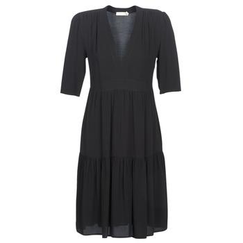 textil Mujer vestidos largos See U Soon CUICO Negro